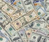 Dollars pile — Stock Photo