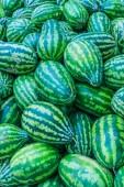 Sweet green watermelons — Zdjęcie stockowe