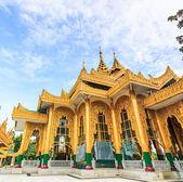 Kyaikhtiyo or Kyaiktiyo pagoda, Golden rock, Myanmar. — Stock Photo