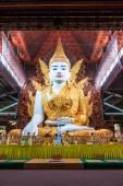 Buddha in Ngahtatkyi Pagoda in Yangon — Stock Photo