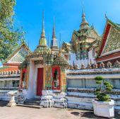 Buddhist temple, Wat Pho — Stock Photo