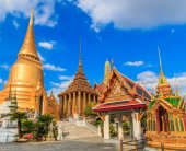 Wat Phra Kaeo, Temple of the Emerald Buddha — Foto de Stock
