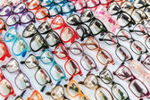 Glasses background — Stock Photo