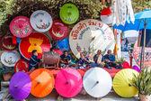 31th anniversary Bosang umbrella festival — Stock Photo