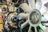 Parts of car engine — Stock Photo