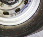 Wheels of truck — Stock Photo