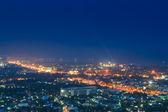 High angle view of Hua Hin — Stock Photo
