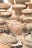 Clay pottery — Stock Photo