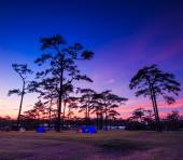 Winter Sunset landscape at Phukradung National Park — Stock Photo