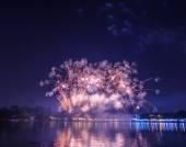 Colorful fireworks — 图库照片