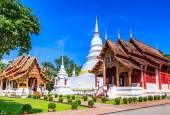 świątyni wat phra śpiewać — Zdjęcie stockowe