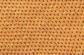 Wicker woven grass — Stock Photo