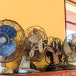 Dirty old vintage metal fan — Stock Photo #56026721