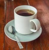 ガラスのコップでお茶 — ストック写真