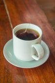 Cam bardak çay — Stok fotoğraf