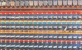 Volume Vintage amplifier — Stockfoto