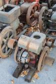 Old engine Traction machine — Stock Photo