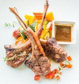Lamb steak , lamb cutlets — Stock Photo