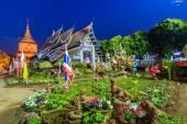 Old wooden Temple of Wat Lok Molee — Photo