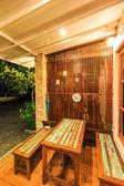 Resort and bungalow — Stockfoto