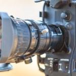 Camcorder Video camera lens — Stock Photo #56207451