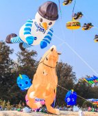 15th Thailand International Kite Festival — Stock Photo