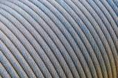Steel wire rope cable — Stock Photo