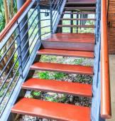 Escalera de madera — Foto de Stock