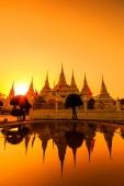 Wat asokaram Temple — Stockfoto