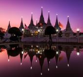 Wat asokaram Temple — Zdjęcie stockowe