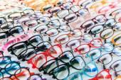 Glasses background — Stock Photo