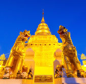 Temple Wat Phra Sri Chomtong — Stock Photo