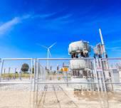 Elektrycznych elektrowni — Zdjęcie stockowe