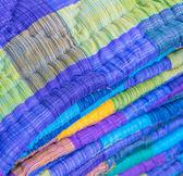 Asia Fabric background — Fotografia Stock