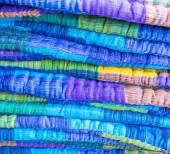 亚洲织物背景 — 图库照片