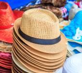 Moderiktiga hattar tillbehör — Stockfoto