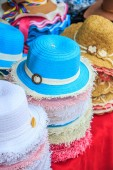 Fashionable hats accessories — Stock Photo