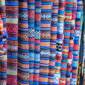 Asia Fabric background — Zdjęcie stockowe