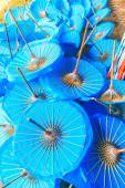 Paper umbrellas in Thailand — Stock Photo