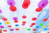 Paper umbrellas in  Thailand — Stock Photo