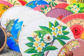 タイで紙傘 — ストック写真