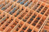 Drain cap steel rusty background — Zdjęcie stockowe