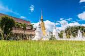 Wat Suan Dok Golden pagoda — Zdjęcie stockowe
