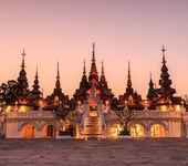 Thailand art legacy hotels — Stock Photo
