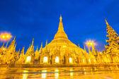 Shwedagon pagoda v Rangúnu — Stock fotografie