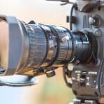 Camcorder Video camera lens — Stock Photo #65647871