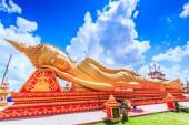 Sueño de Buda en el templo de Vientiane — Foto de Stock