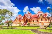 Temple in Vientiane, Laos — Stock Photo