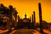 Sukhothai historical park in Thailand — Stock Photo