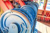 Railway track switch mechanism — Stock Photo